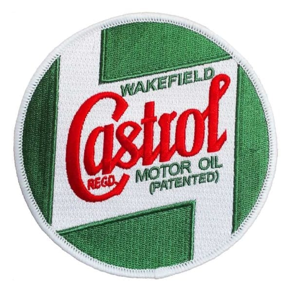 Castrol Classic Embroidered Race Decal