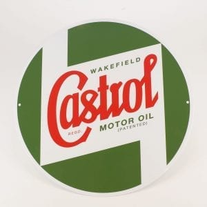 Castrol Classic Regalia -40 cm Sign