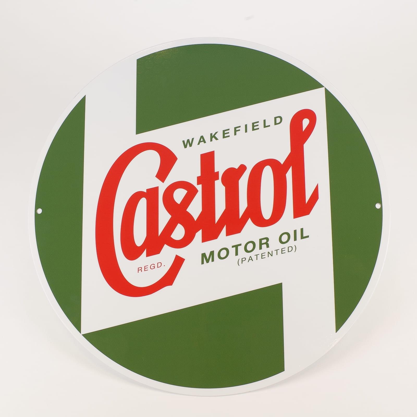Castrol Classic Regalia -40 cm Sign