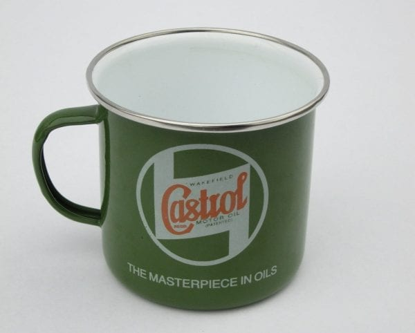 Castrol Classic Regalia - Tin Mug