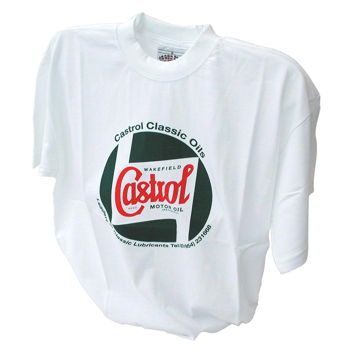 Castrol Old School T Shirt Australia