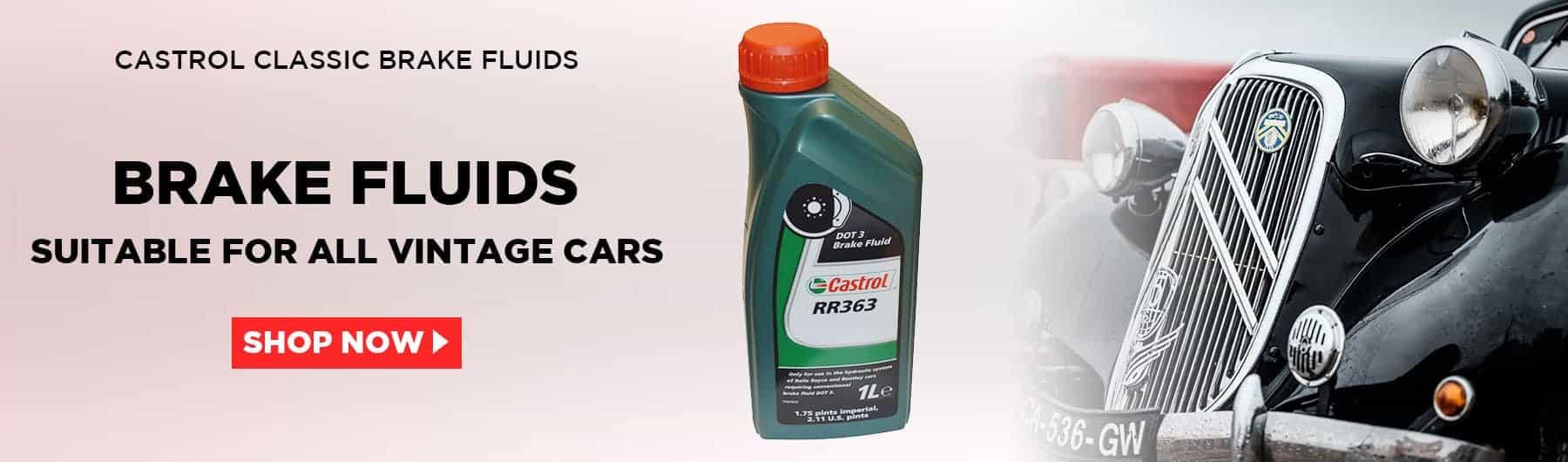 Castrol Classic Brake Fluids in Australia