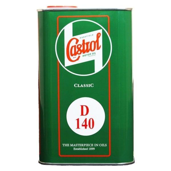 Castrol Classic D140 Monograde API GL3 1 L
