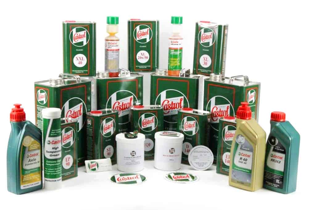 Castrol Classic Range of Products
