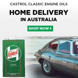 Castrol Classic Engine Oils in Australia