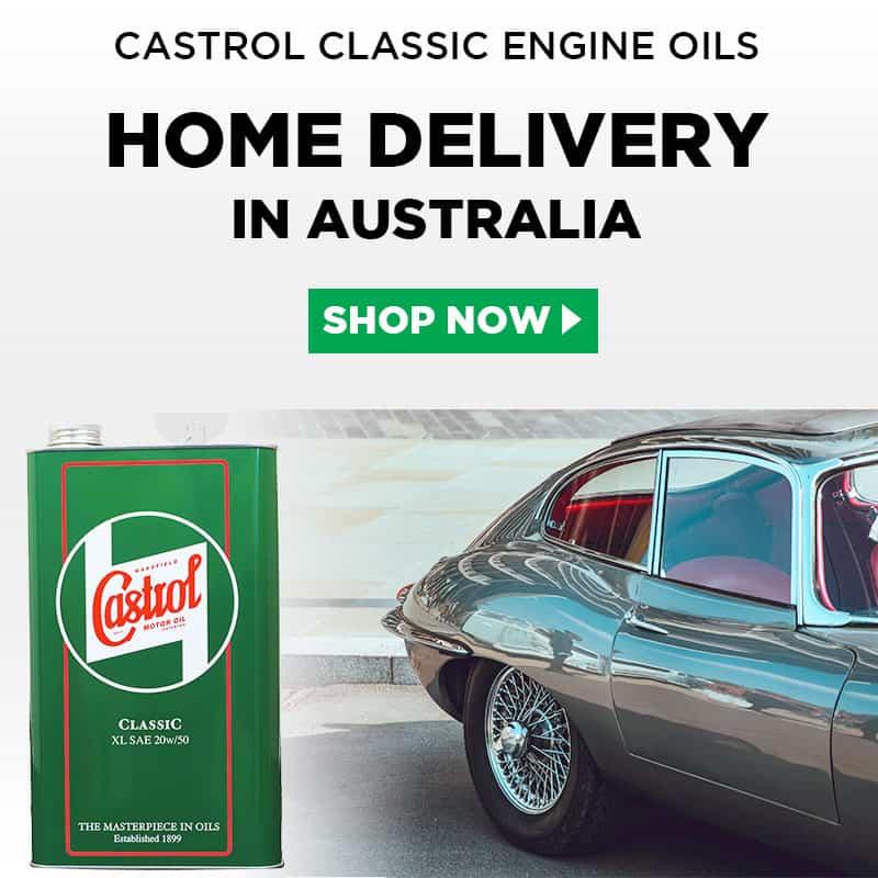 Castrol Classic Engine Oils in Australia