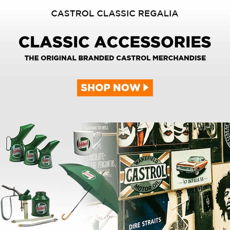 Castrol Classic Accessories in Australia