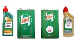 Castrol Classic Gear Oils