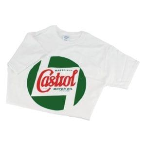 T Shirt Cotton Castrol Classic