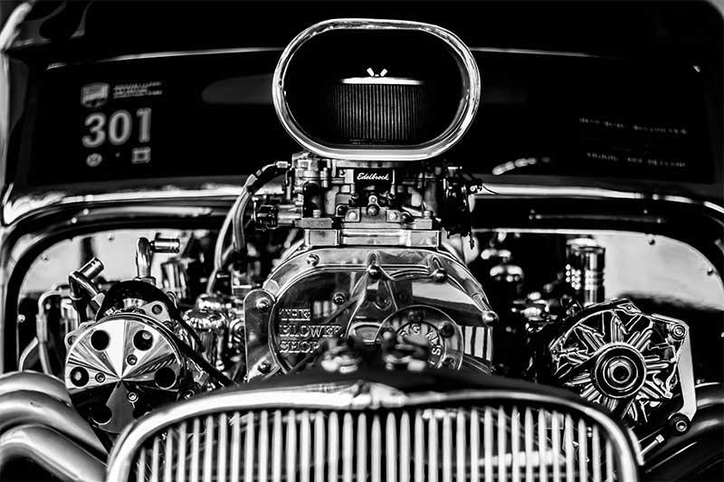 Classic-Car-engine
