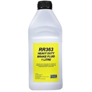 RR363 Heavy Duty Brake Fluid