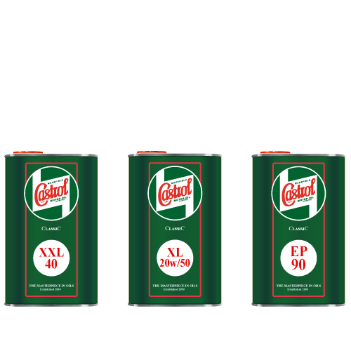 Castrol Classic Engine Oils and Gear Oils